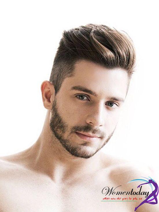 Kiểu tóc undercut ngắn đỉnh dài