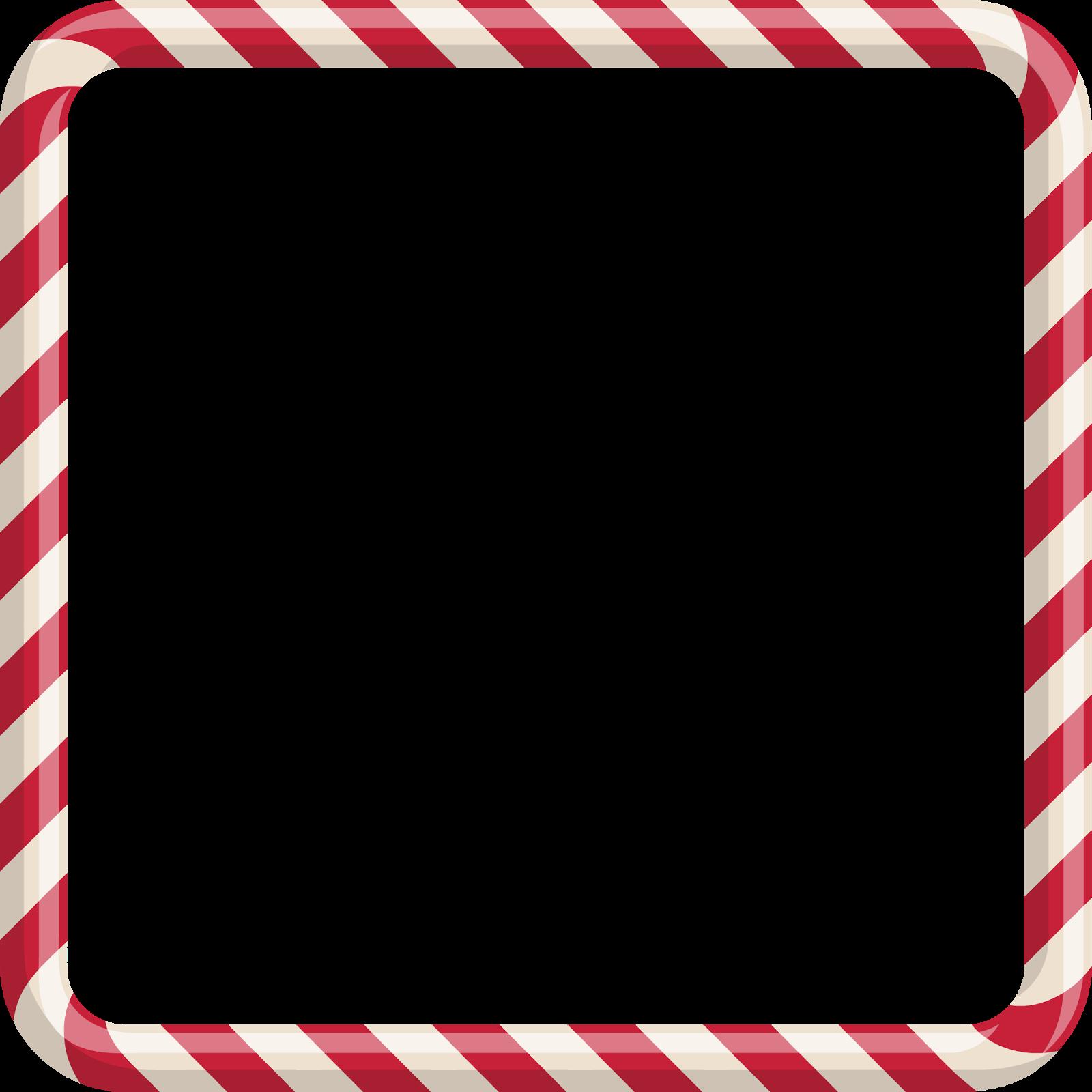 Wonderland In A Wardrobe: Candy Cane Frames Freebies