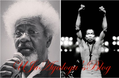 Wole Soyinka Mourns The Death Of Legendary Fela After 10 Years With Indescribable Words [READ]