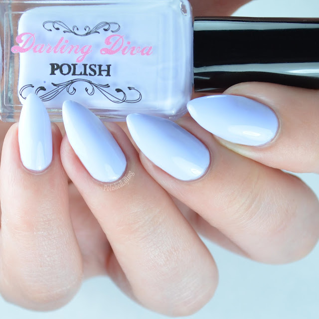 pastel purple nail polish