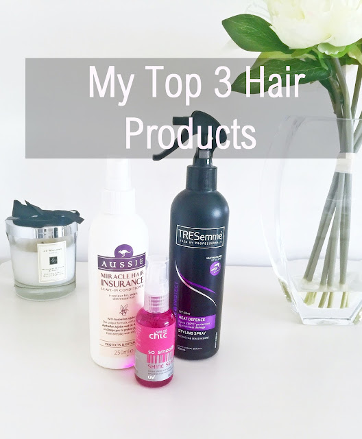 Top 3 Hair Products