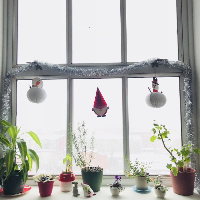 A Week in Pictures   December Advent Snow Day   Linzer Lane Blog #artist #jerseycity #snowday