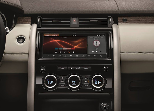 Land Rover Discovery 2017 - painel