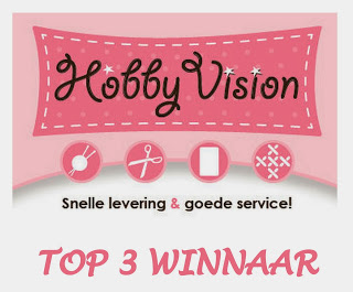 19 oktober 2020 in top 3 bij Hobbyvisioncrewchallenge