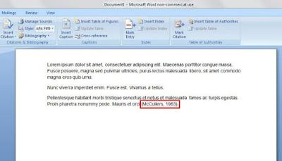 Cara Membuat Kutipan Dan Daftar Pustaka di Microsoft Word Cara Membuat Kutipan Dan Daftar Pustaka di Microsoft Word