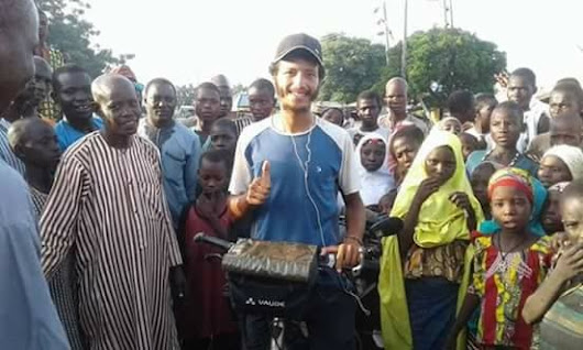 Subject: Man rides bicycle from Morocco to Nigeria, set to ride to Abuja next (Photos)