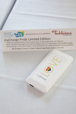 myCharge Pride Limited Edition Power Bank