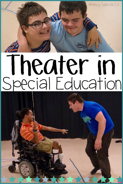 Every SPED teacher should read this! Why you should incorporate theater into your special education students (Yes, even with your non-verbal kids and students with limited mobility)