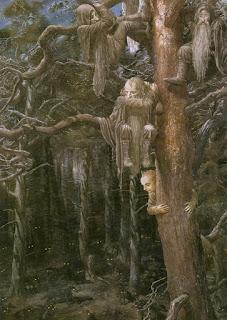 Subidos en los árboles