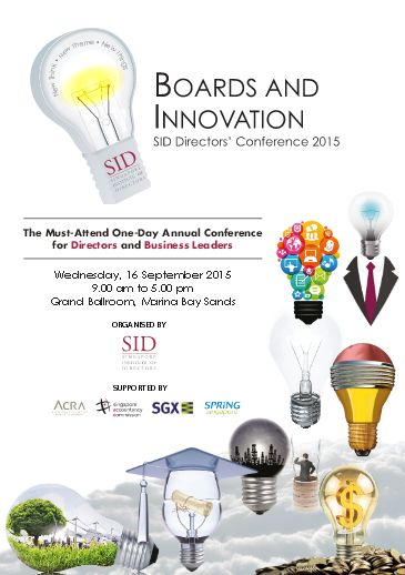 WorkSmart Asia: Singapore Institute of Directors to focus on