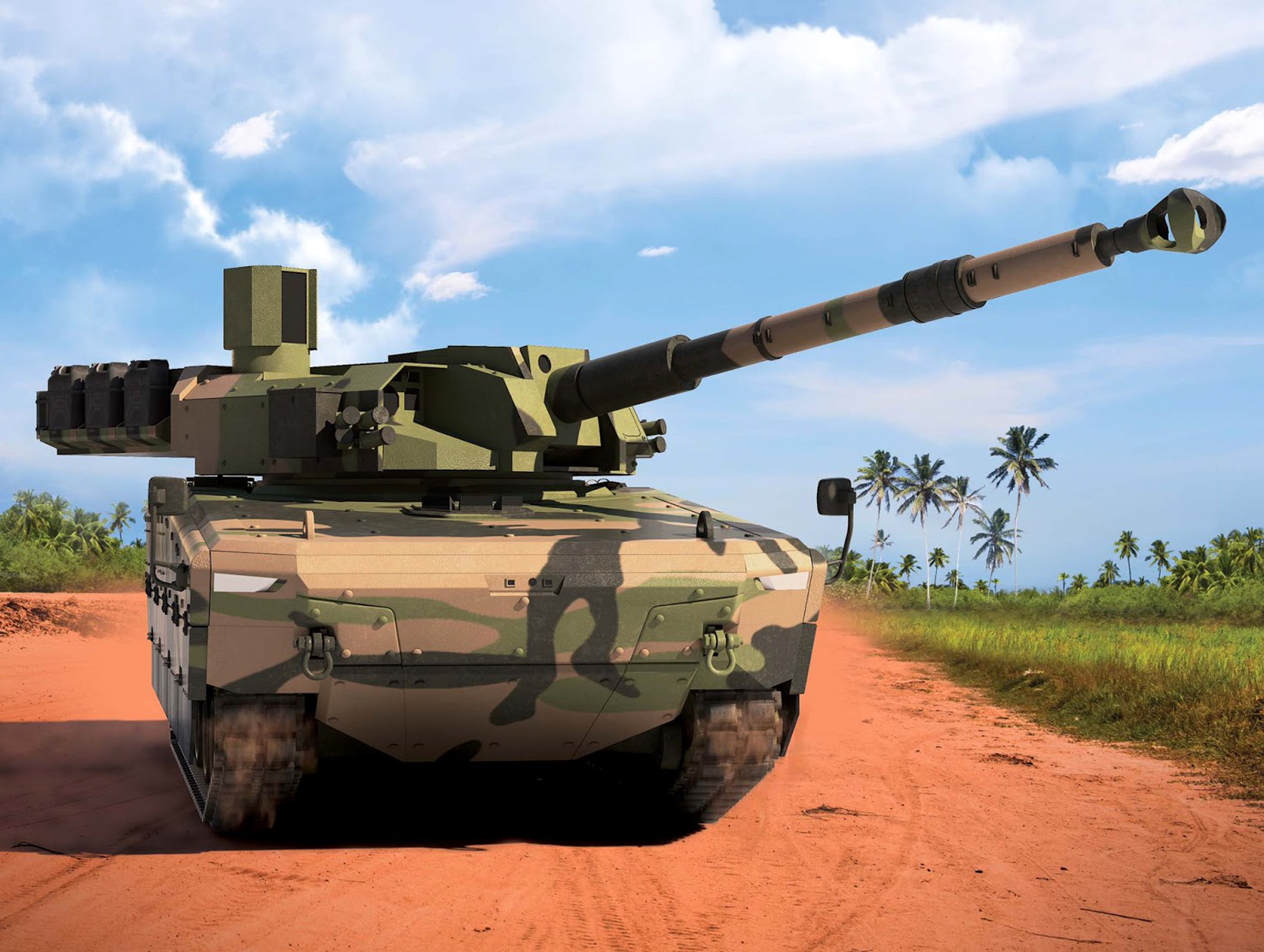 Tank Medium Buatan Pindad