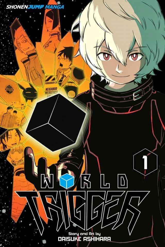 Okładka pierwszego tomu mangi World Trigger