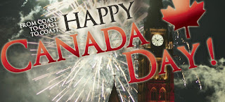 Canada Independence day e-cards greetings free download