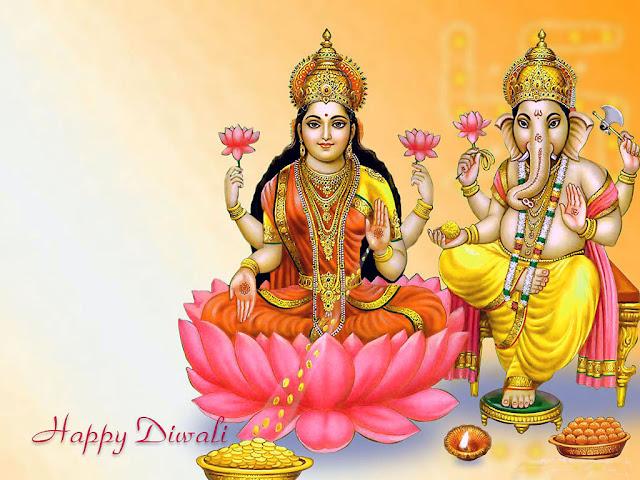 Happy Diwali 2019 HD Lakshmi Ganesha Pictures