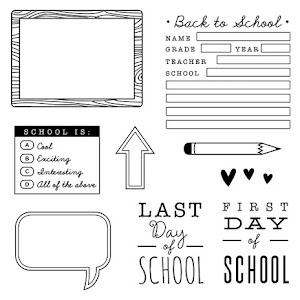 August Stamp of the Month: School Year
