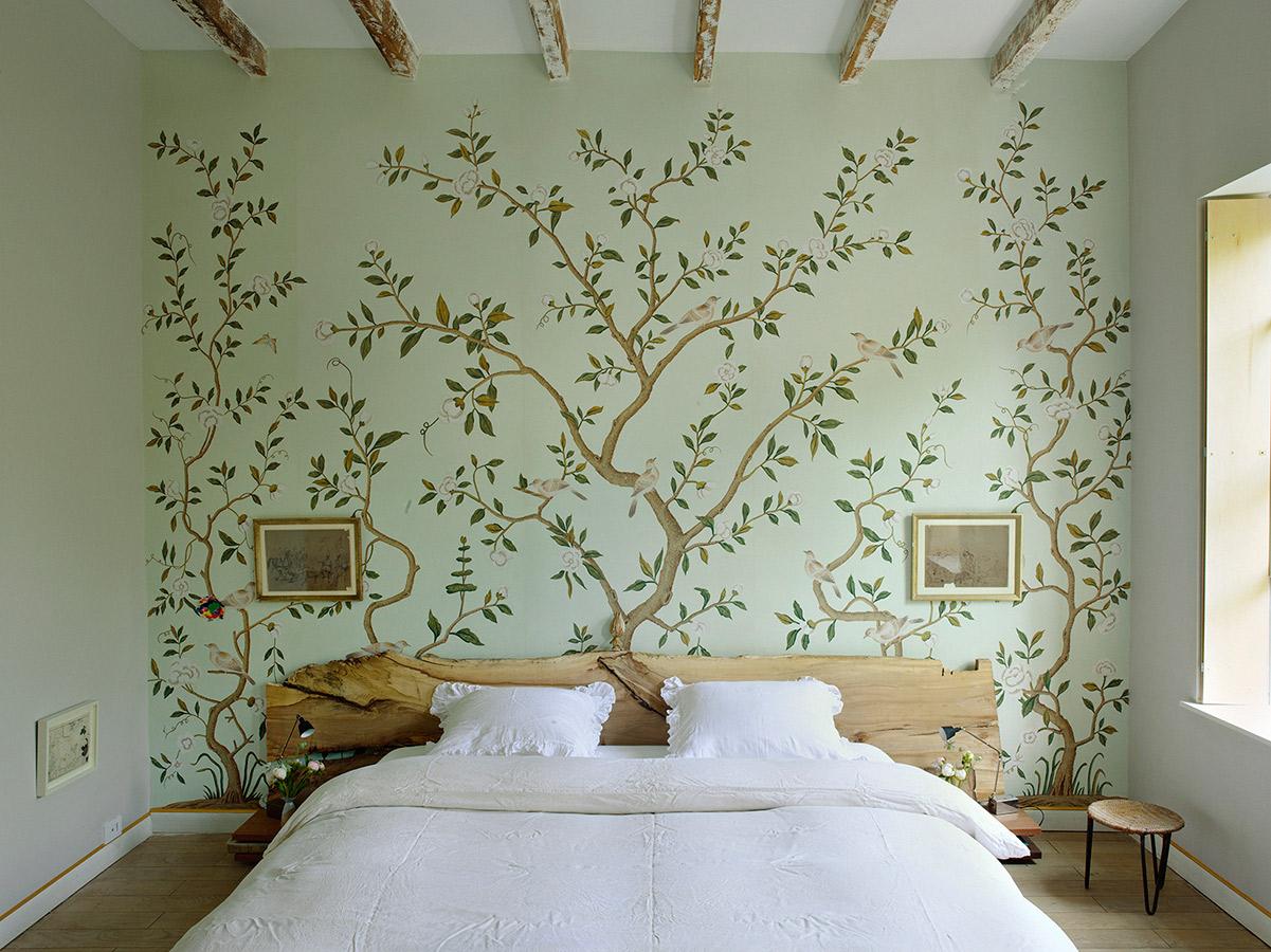 Carte da parati ispirazione natura blog arredamento - Decorating wallpapers for interior ...
