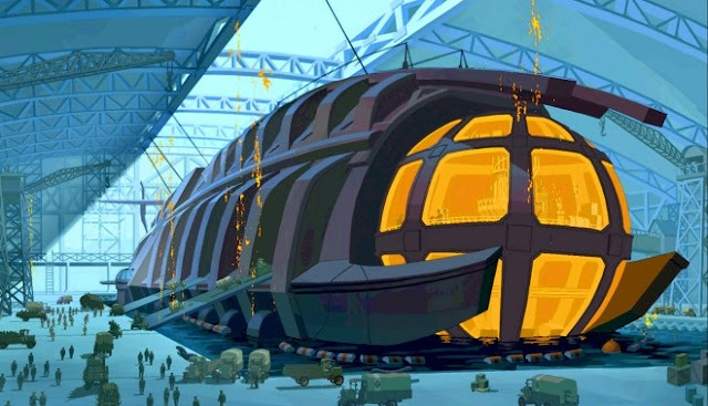 Ulysses sub Atlantis: The Lost Empire 2001 animatedfilmreviews.filminspector.com