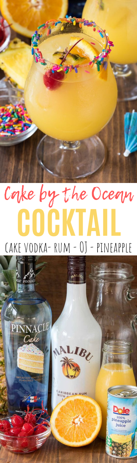 Cake by the Ocean Cocktail #summer #drink