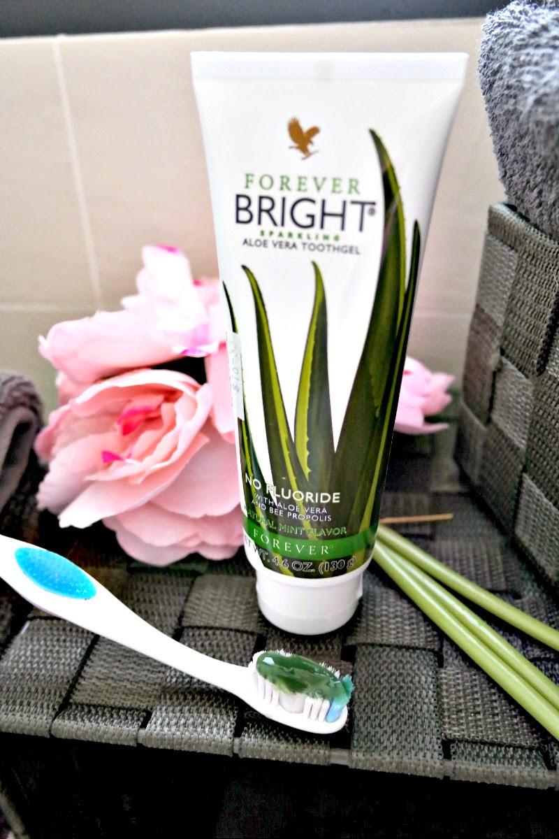 forever bright aloe vera toothgel
