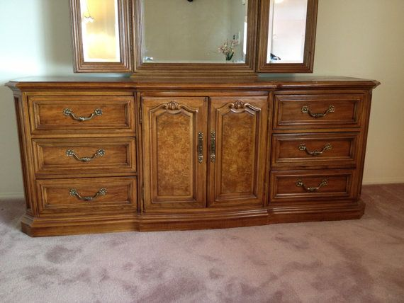 vintage thomasville bedroom furniture dresser design