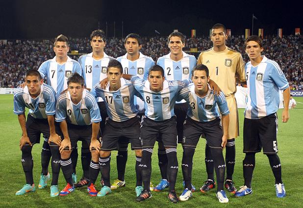 Formación de Argentina ante Chile, Campeonato Sudamericano Sub-20 Argentina 2013, 9 de enero