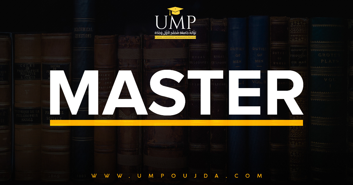 ENCG El Jadida : Master Sciences de Gestion 2018/2019