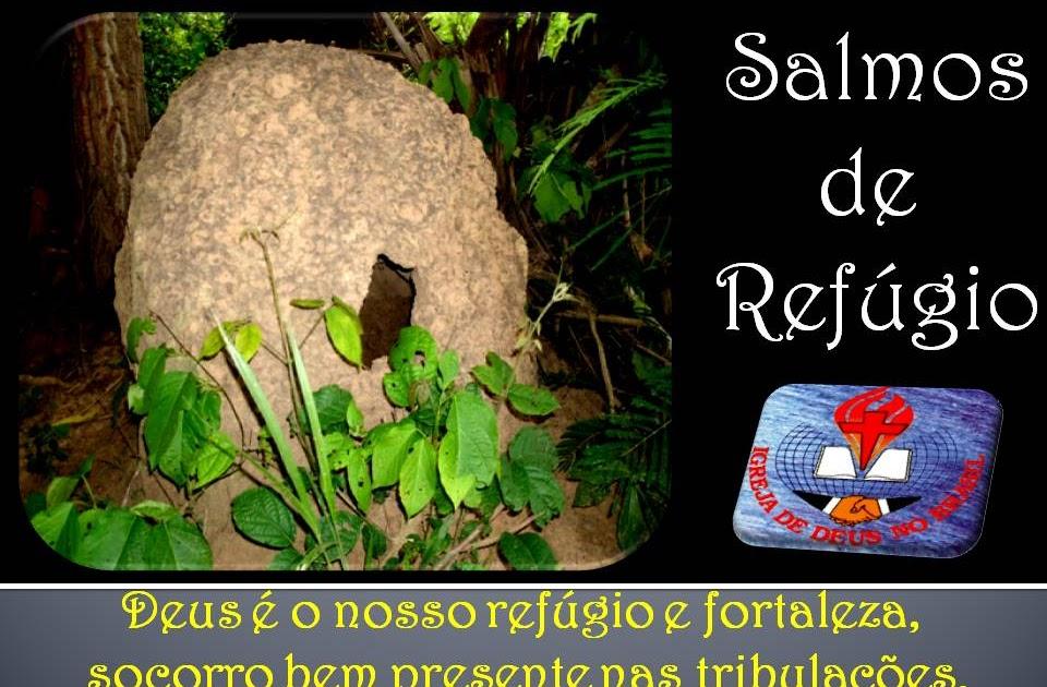 Salmos Para O Amor: Prrsoares: Salmos De Refúgio. Igreja De Deus No Brasil