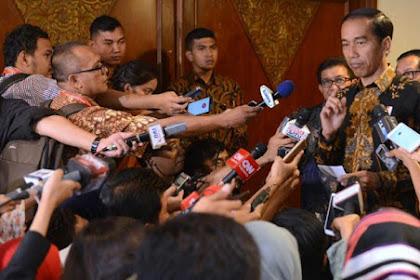 Ditanya Mengapa Pak Jokowi Hanya Undang MUI, NU dan Muhammadiyah ke Istana, Jawaban Jokowi Adalah...