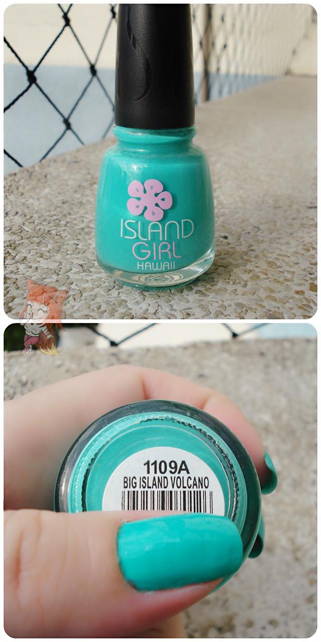 Esmalte Islan Girl :: Big Island Volcano - Resenha