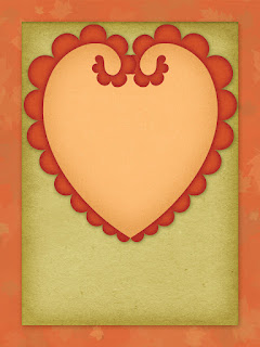 Pumpkin Spice Pocket/Journal Card - free scrapbook element
