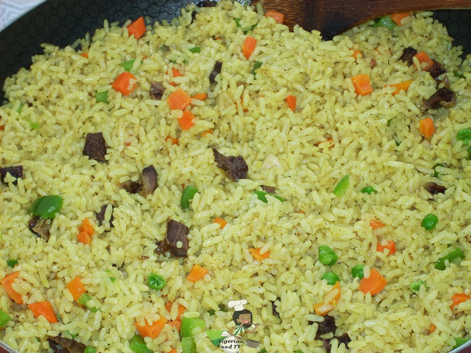 Nigerian fried ricehow to cook nigerian fried rice ccuart Images