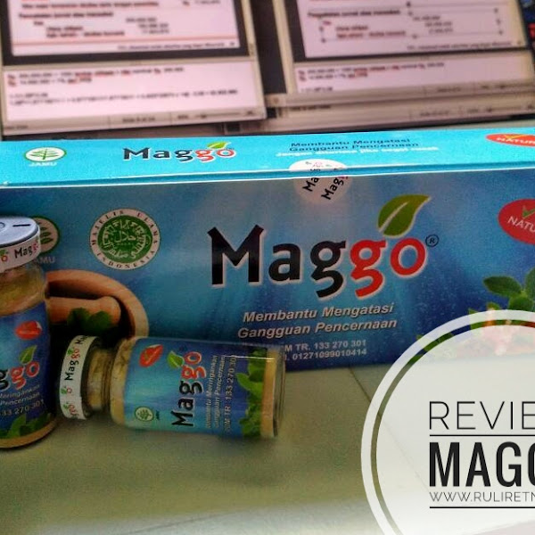 Review MAGGO, Obat Maag Herbal Halal