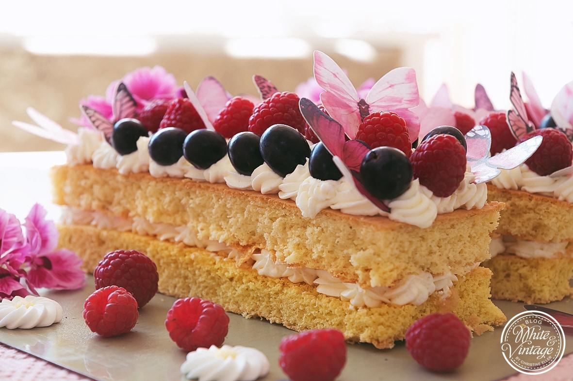 Lettercake zum Muttertag selber backen