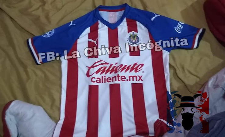 27faa453c95 The new Chivas 2019-2020 home shirt got leaked online last night. Made by  Puma, the Chivas 19-20 jersey features the logo of new sponsor Caliente on  the ...