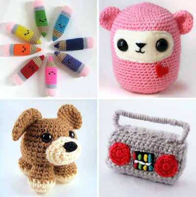 36 Japanese Crochet Amigurumi Animals and Dolls Ideas and Images ... | 401x400