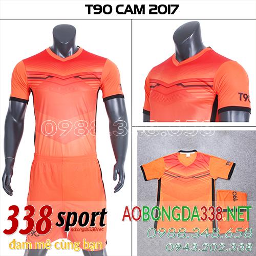 mẫu áo t90 pc cam 2018