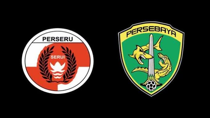 Hasil Perseru Serui vs Persebaya Skor Akhir 3-1