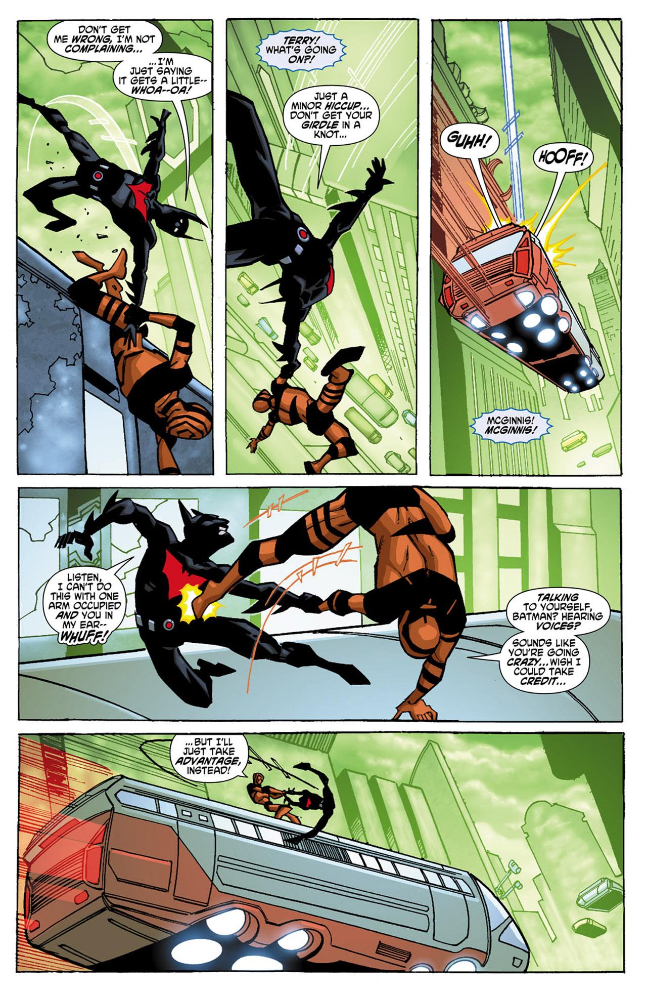Batman Beyond (2010) Issue #1 #1 - English 8