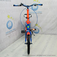 16 Inch Exotic 2658 Color Rainbow 6 Speed Folding Bike