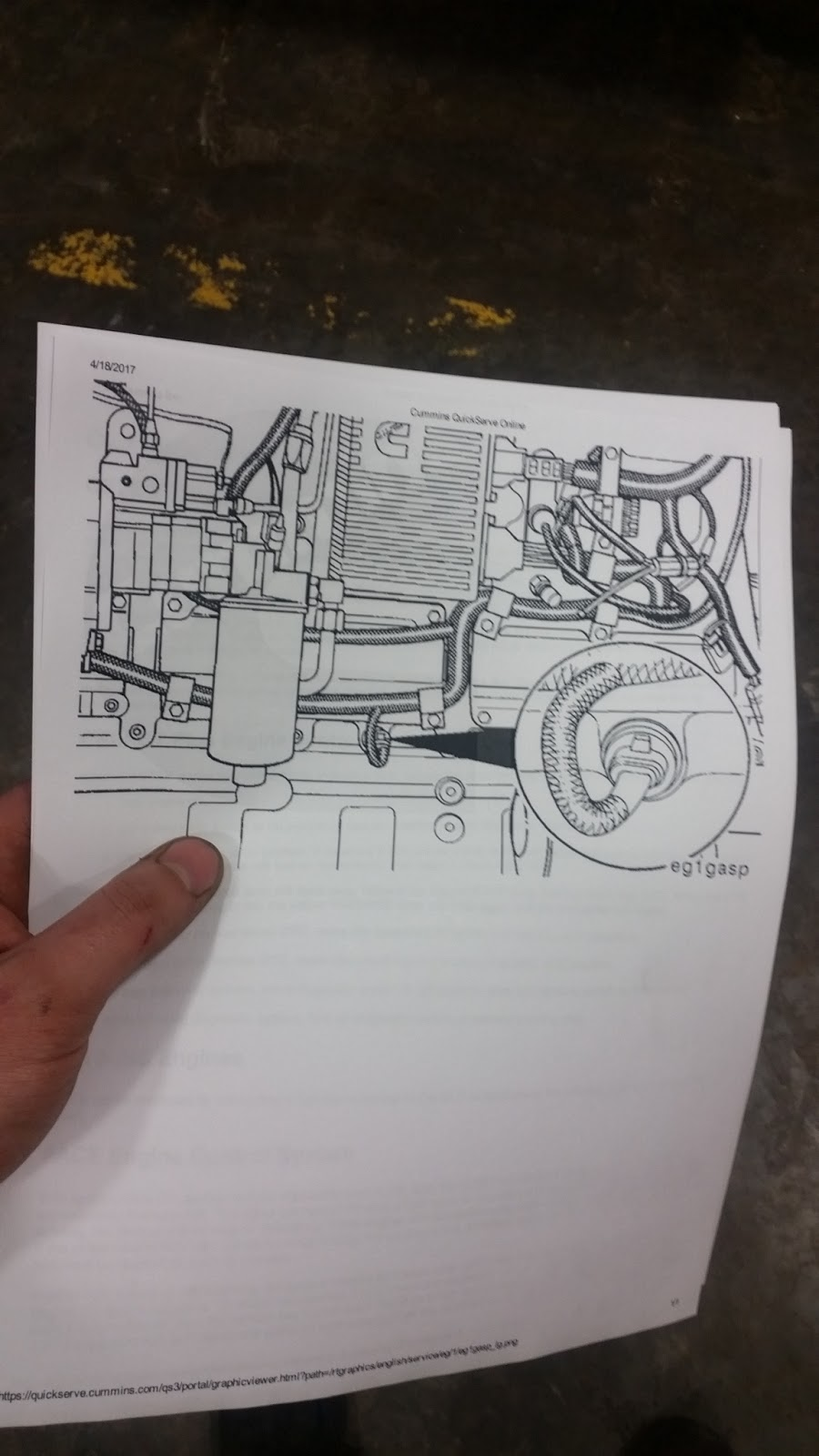 Erik Miehrig U0026 39 S Auto  Diesel Blog  Oil Pressure Sensor Circuit Fault  Code 141  Cummins N14 Celect