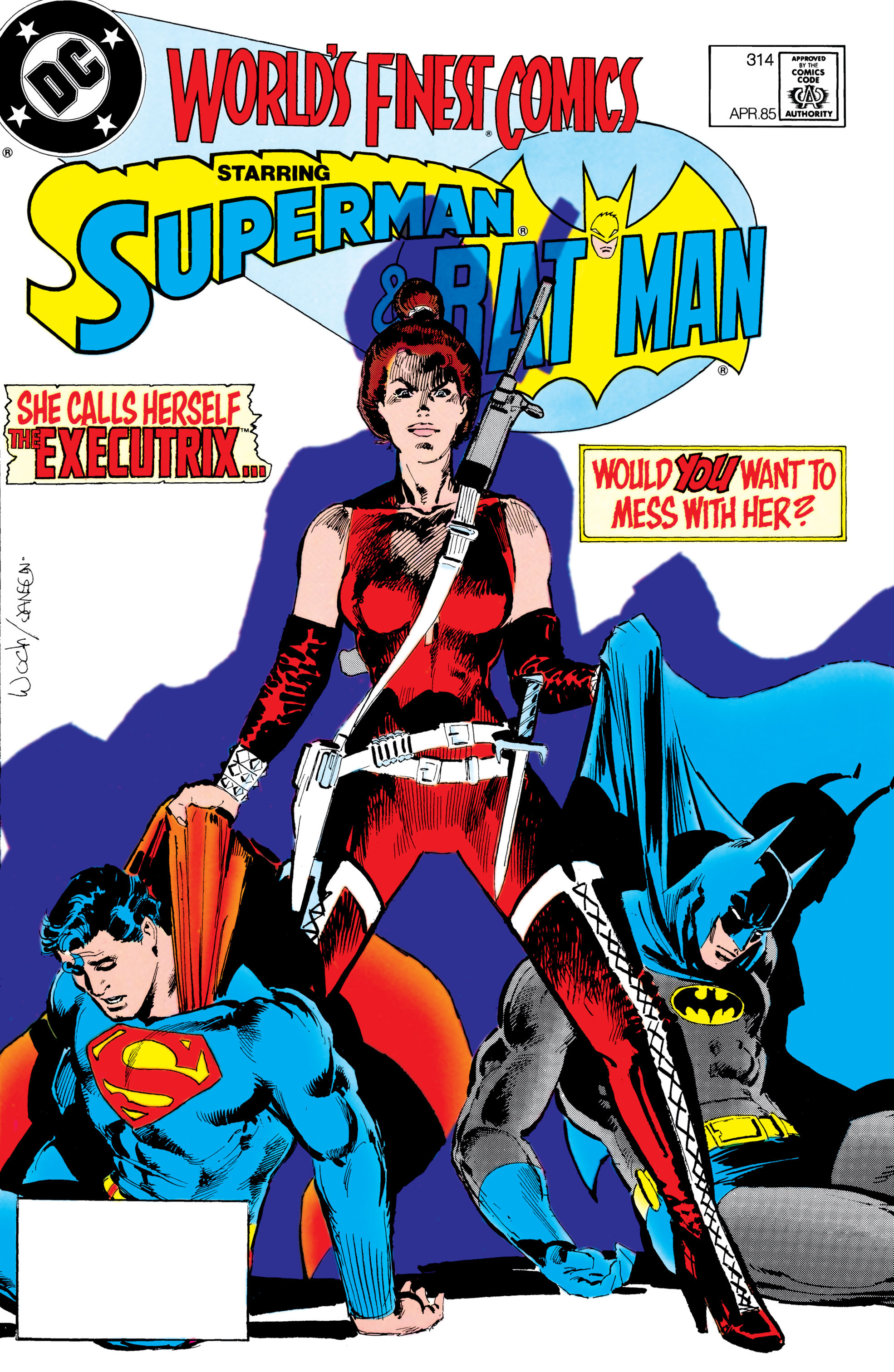 Read online World's Finest Comics comic -  Issue #314 - 1