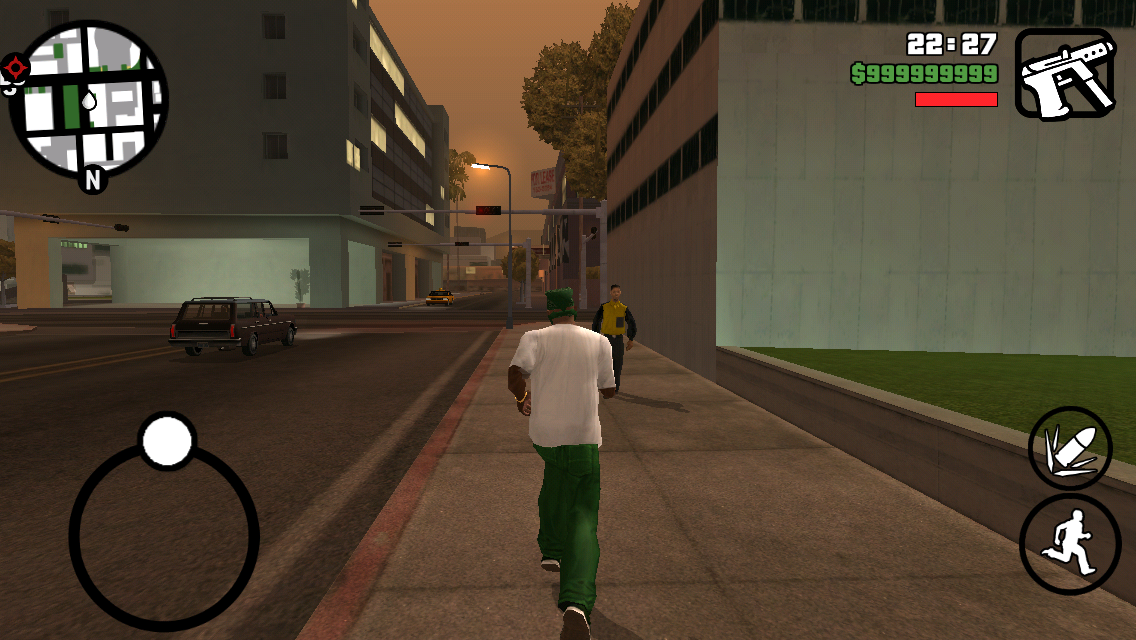Grand Theft Auto : San Andreas (Android)