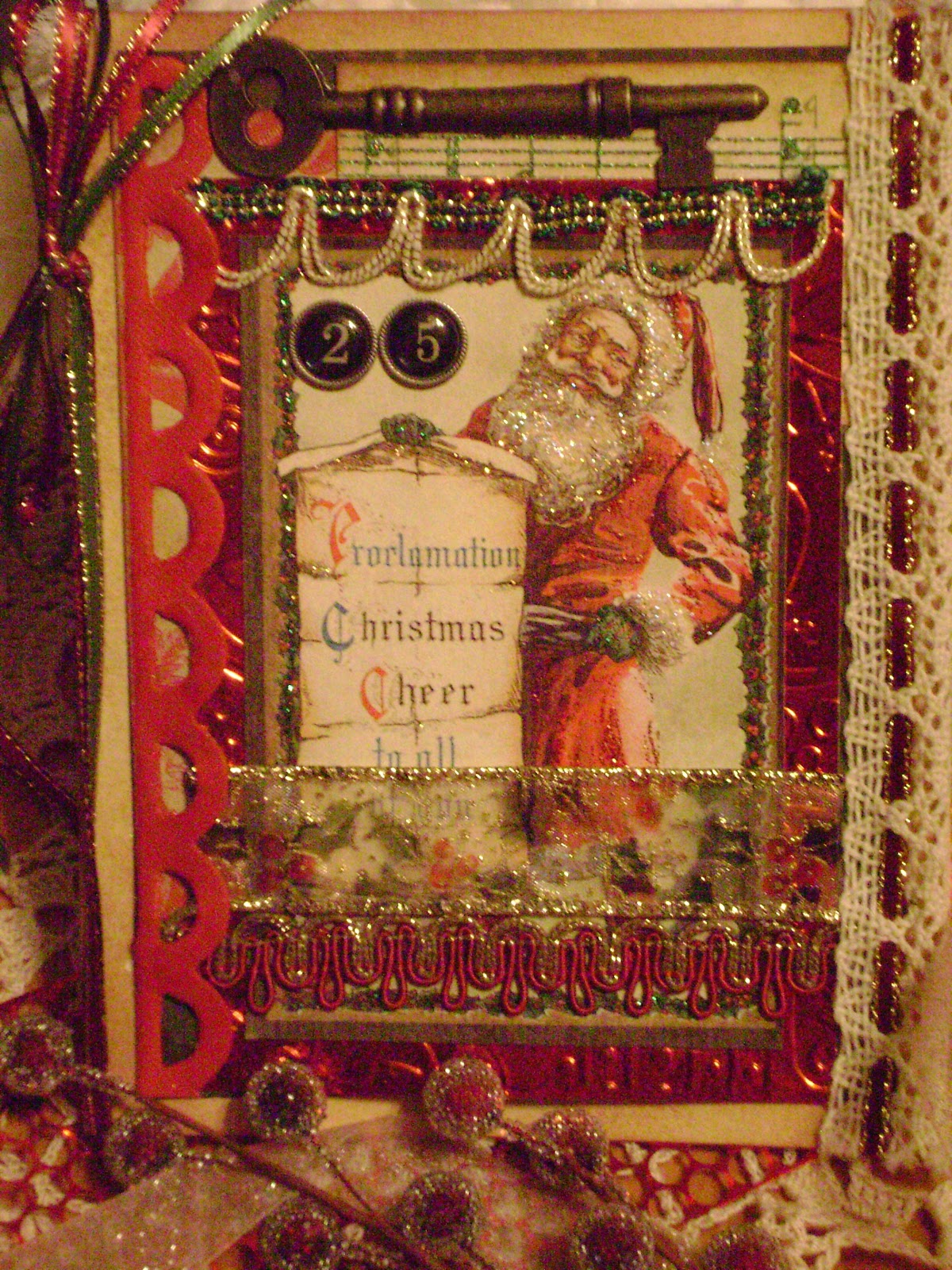 Crabtree-Creations: Collage Christmas Cards Tutorial Part 1
