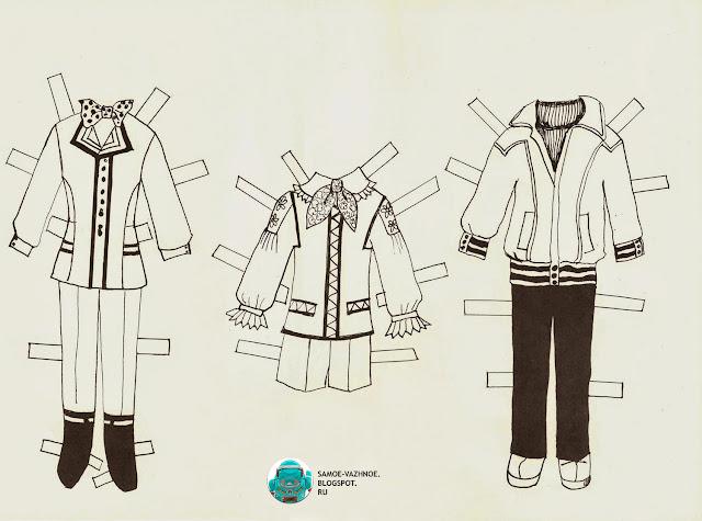 Бумажные куклы скачать СССР, советские. Бумажные куклы мальчик и две 2 девочки Papuošk mane Наряди меня Дарбас Литва, литовские СССР, советские. Бумажные куклы одежда для мальчика.