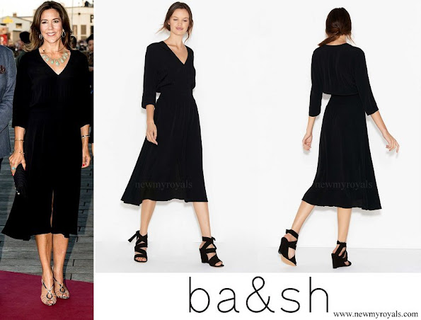 Crown Princess Mary wore BA & SH Lucia dress