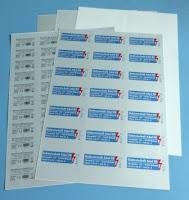 Typenschild selbst per Laserdrucker beschriften