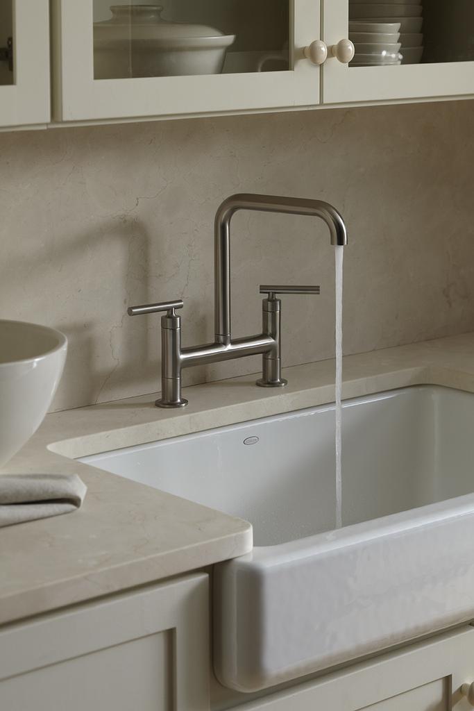 Kohler Kitchen Stainless Steel Undermount Three Section Sinks