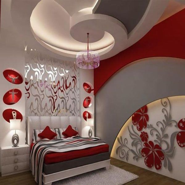 Decoration platre plafond chambre a coucher ms timicha for Decoration plafond chambre a coucher