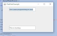 Java JTextField