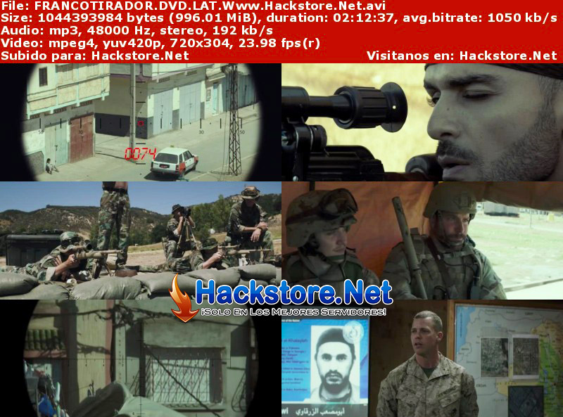 Capturas de Francotirador (2014) DVDRip Latino